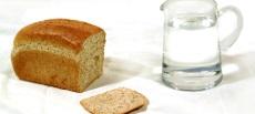 На хлебе и воде