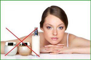 Липофилинг лица: противопоказана косметика на зоне липофилинга
