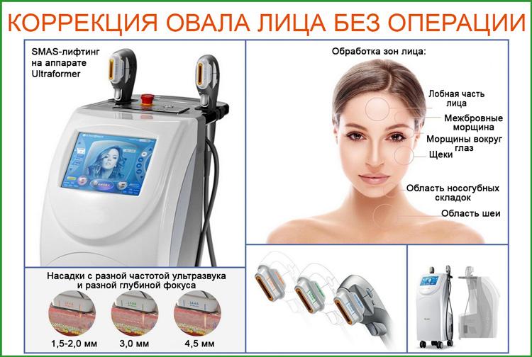 Как подтянуть овал лица без операции