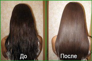 Какой эффект ждать после лифтинга волос: фото до и после