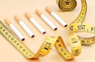 Пошел набор веса после того как бросила курить