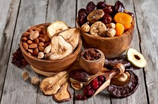Продукты для похудения сухофрукты