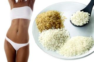 Как снизить вес с помощью риса