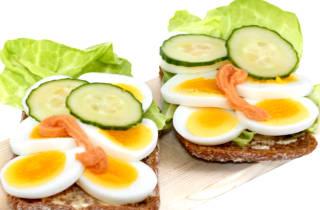Диета с помощью яиц