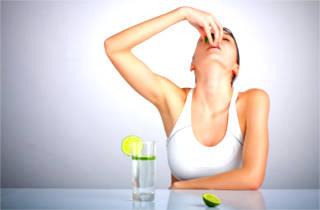 Лимонный сок в диете