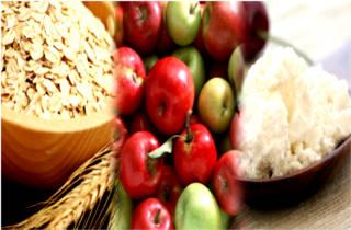 Диета с яблоками и творогом