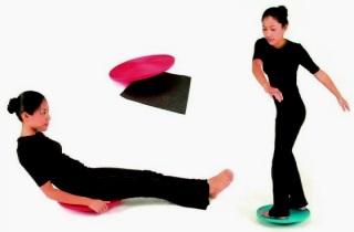 Выполняем упражнения для похудения с диском здоровья