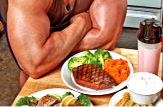 спортсмен на диете