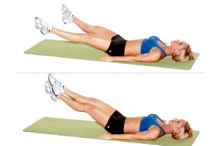 Упражнения для похудения бедер и ляшки