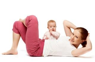 Гимнастика для похудения после родов